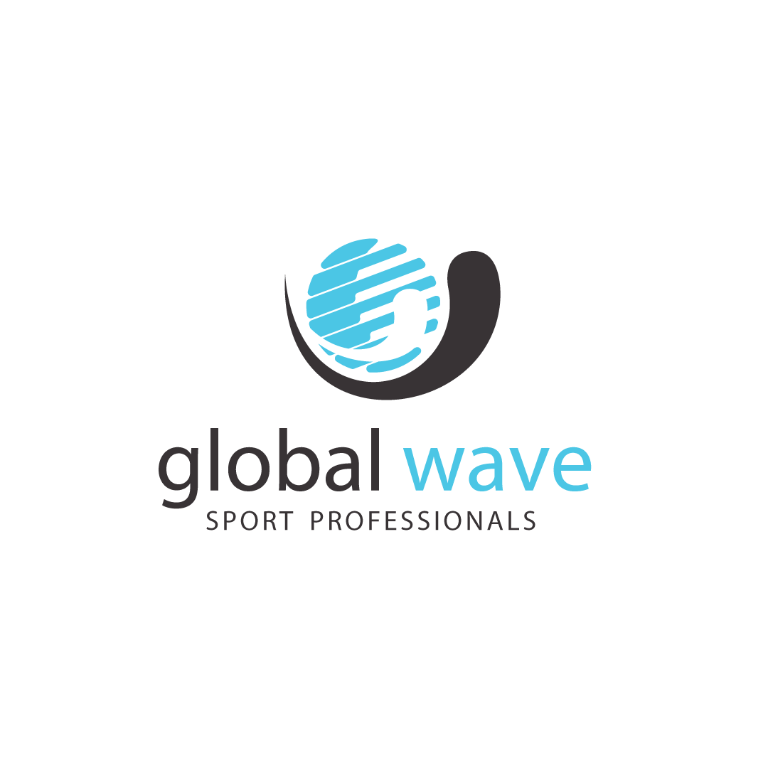 Global Wave Logo Carre Blanc