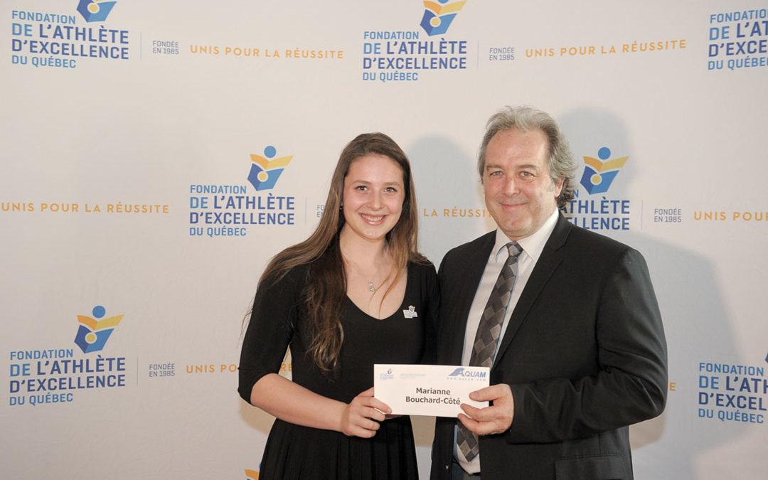 Félicitations Marianne Bouchard-Côté!